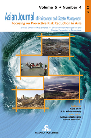 Asian Journal of Environment and Disaster Management (AJEDM)